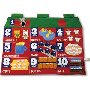 知育玩具 3歳 4歳 5歳 子供 誕生日プレゼント カウンティングタペストリー|nicoly
