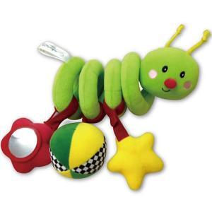 ベビーカー お出かけ 布 おもちゃ 0歳 1歳 誕生日プレゼント スパイラルバグ|nicoly
