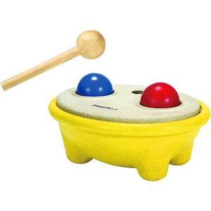 木のおもちゃ ハンマートイ 1歳 2歳 3歳 子供 誕生日プレゼント ハンマーボールII|nicoly