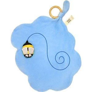 おもちゃ 子供 赤ちゃん ベビー 誕生日プレゼント パペット・ブランケット みつばち|nicoly