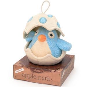 オルゴール 赤ちゃん おもちゃ 0歳 1歳 誕生日プレゼント ミュージカルバード ブルー|nicoly