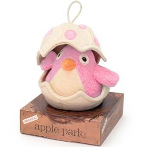 オルゴール 赤ちゃん おもちゃ 0歳 1歳 誕生日プレゼント ミュージカルバード ピンク|nicoly