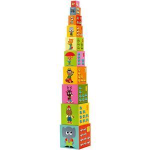 知育玩具 キューブブロック 1歳 2歳 3歳 子供 誕生日プレゼント 10ビークル ブロックス|nicoly