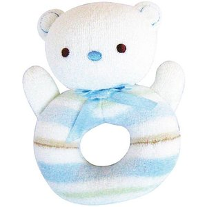 ガラガラ 赤ちゃん おもちゃ 0歳 1歳 誕生日プレゼント ラトル ベア|nicoly