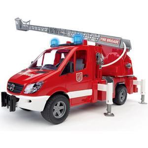 車のおもちゃ 3歳 4歳 5歳 子供 誕生日プレゼント MB消防車|nicoly