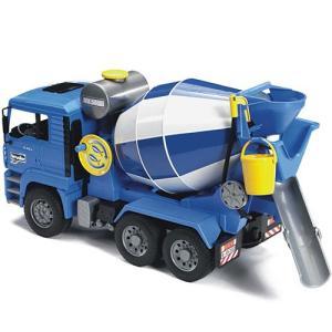 車のおもちゃ 3歳 4歳 5歳 子供 誕生日プレゼント MAN セメントミキサー|nicoly