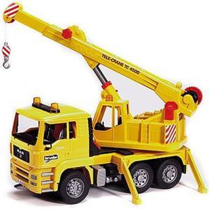 車のおもちゃ 3歳 4歳 5歳 子供 誕生日プレゼント MAN クレーントラック|nicoly