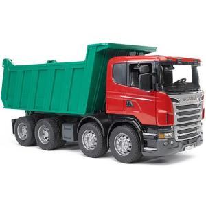 車のおもちゃ 3歳 4歳 5歳 子供 誕生日プレゼント SCANIA Tip upトラック|nicoly