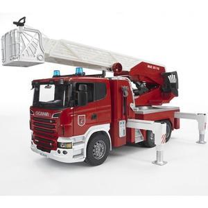 車のおもちゃ 3歳 4歳 5歳 子供 誕生日プレゼント SCANIA 消防車|nicoly