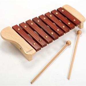 楽器 音楽 おもちゃ 3歳 4歳 5歳 子供 誕生日プレゼント 木琴 8音|nicoly