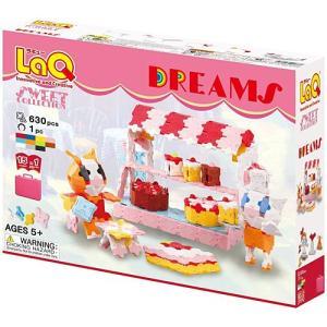 ブロック 玩具 4歳 5歳 6歳 子供 誕生日プレゼント LaQ ラキュー スイートコレクション ドリームズ