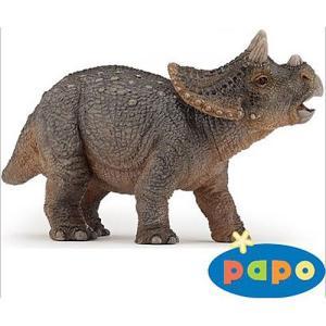 フィギュア 恐竜 3歳 4歳 5歳 子供 誕生日プレゼント ヤングトリケラトプス|nicoly