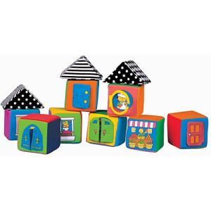 積み木 赤ちゃん おもちゃ 子供 0歳 1歳 2歳 誕生日プレゼント ノック・ノック・ブロック|nicoly
