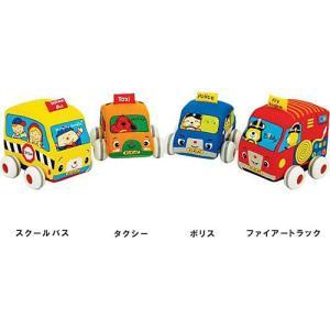 車 赤ちゃん おもちゃ 子供 1歳 2歳 3歳 誕生日プレゼント プルバックカー|nicoly