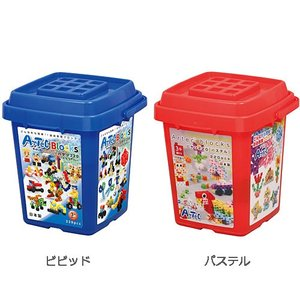 おもちゃ 知育玩具 子供 誕生日プレゼント 男の子 女の子 アーテックブロック バケツ220|nicoly