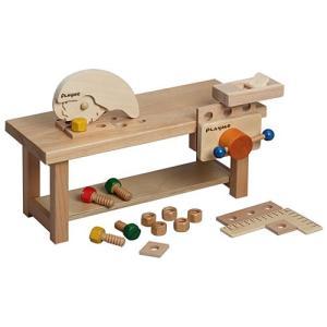 大工 工具 おもちゃ 知育玩具 ワークベンチ 大工さん 木のおもちゃ 木製 子供 誕生日プレゼント 男の子 女の子 3歳 4歳 5歳|nicoly