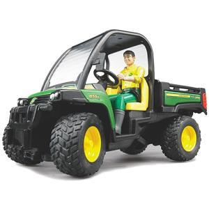 車のおもちゃ ビーワールド JD ゲーターXUV855D(フィギュア付き) 子供 男の子 誕生日プレゼント 3歳 4歳 5歳の画像