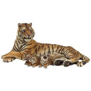 フィギュア 動物 トラのお母さん(授乳) 子供 誕生日プレゼント 男の子 女の子 3歳 4歳 5歳 6歳|nicoly