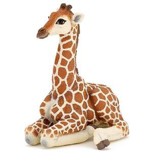 フィギュア 動物 キリンの子ども(伏) 子供 誕生日プレゼント 男の子 女の子 3歳 4歳 5歳 6歳|nicoly