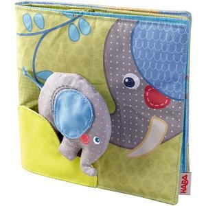 赤ちゃん 誕生日プレゼント 布おもちゃ 布絵本 クロースブック・エレファント 子供 0歳 1歳 2歳 男の子 女の子|nicoly