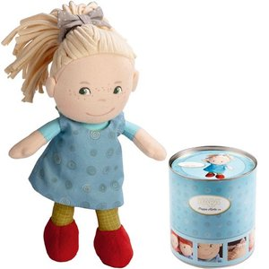 人形 ドール 誕生日プレゼント 女の子 缶入りドール・おすましミレ 着せ替え 子供 3歳 4歳 5歳|nicoly