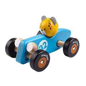車のおもちゃ 木のおもちゃ 誕生日プレゼント チーターレーシングカー 木製 子供 男の子 1歳 2歳 3歳|nicoly