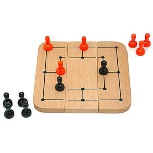 ボードゲーム 知育玩具 誕生日プレゼント シックス・メンズ・モリス 6歳 小学生 子供 男の子 女の子|nicoly
