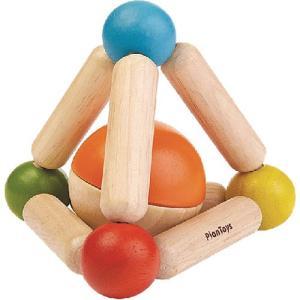 知育玩具 0歳 1歳 2歳 三角のにぎにぎ|nicoly