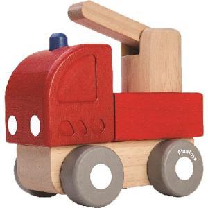 車 木のおもちゃ ミニファイヤーエンジン|nicoly