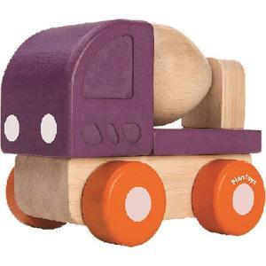 車 木のおもちゃ ミニコンクリートミキサー|nicoly