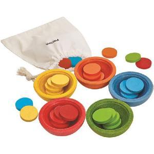 知育玩具 2歳 3歳 4歳 ソート&カウント カップ|nicoly