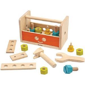大工さん 工具 木のおもちゃ ロボットツールボックス|nicoly