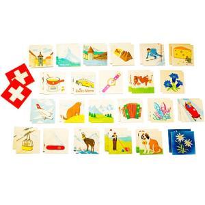 メモ・スイス 知育玩具 カードゲーム 誕生日プレゼント 木のおもちゃ nicoly
