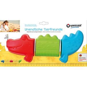 砂型セット・クロコダイル お砂場セット 砂場 おもちゃ 砂遊び