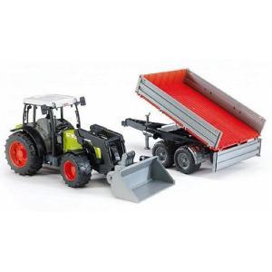 Class Nectis267F トラクター&Tipping トレーラー 車のおもちゃ ダンプカー トラック 砂場|nicoly
