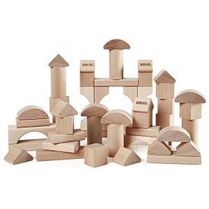 積み木 ブロック 木のおもちゃ BRIO ブリオ つみき50ピース