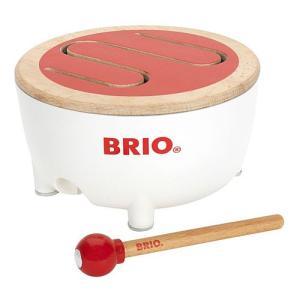 知育玩具 楽器玩具 BRIO ブリオ ドラム|nicoly