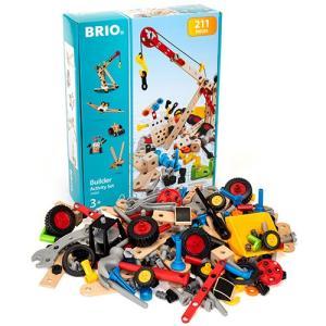 知育玩具 木のおもちゃ BRIO ブリオ ビルダー アクティビティセット|nicoly