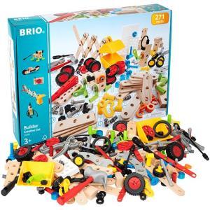 知育玩具 木のおもちゃ BRIO ブリオ ビルダー クリエイティブセット|nicoly