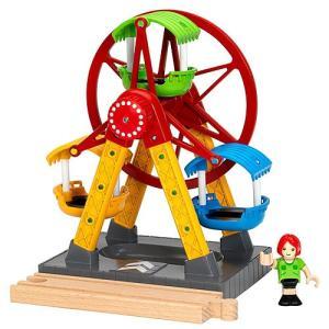 木製レール 電車 木のおもちゃ BRIO ブリオ 観覧車|nicoly
