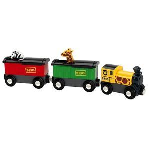 木製レール 電車 木のおもちゃ BRIO ブリオ サファリ列車|nicoly