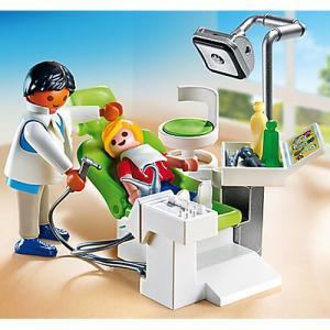 ごっこ遊び 人形 プレイモービル 小児科シリーズ 歯医者さん nicoly