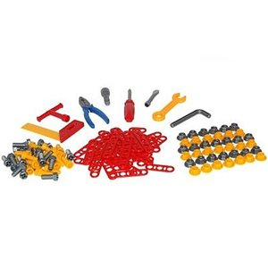 大工さん 知育玩具 工具セットB 129ピース|nicoly