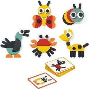 知育玩具 パズル DJECO ジオアニモ|nicoly