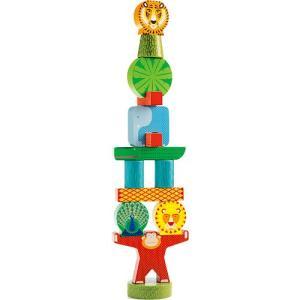 知育玩具 木のおもちゃ スタッキージャングル