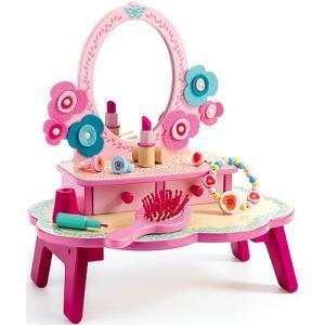 おままごと 木のおもちゃ フローラ ドレッシングテーブル|nicoly
