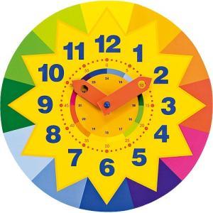 知育玩具 木のおもちゃ 時計 時間 ラーニングタイム サンクロック|nicoly