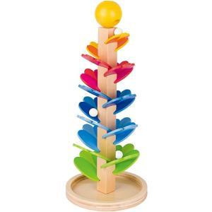 スロープトイ 木のおもちゃ マーブルサウンド パゴダ|nicoly