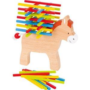 バランスゲーム 知育玩具 木のおもちゃ スタッキングゲーム ドンキー|nicoly