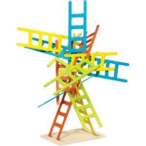 知育玩具 木のおもちゃ バランスゲーム ハシゴ|nicoly